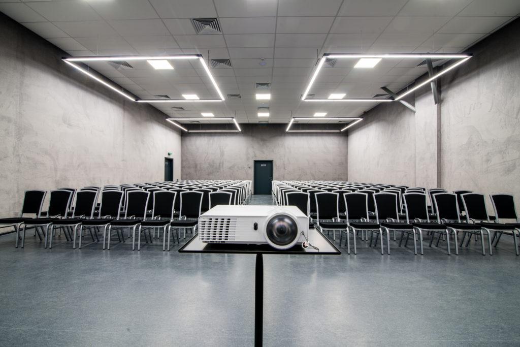 Violet conference room